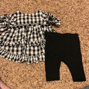 EUC Pippa and Julie Hi Lo Tunic and Leggings